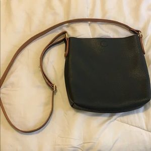 Crossbody bag reversible